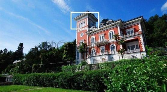 Lago Maggiore.Stresa. Appartamento in Villa d'epoca